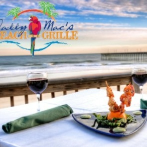 Daddy Mac's Beach Grille dinner | Island Real Estate