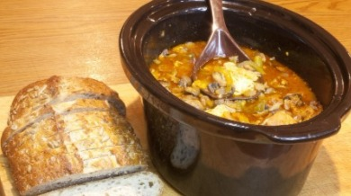 bread and crockpot soup | Island Real Estate