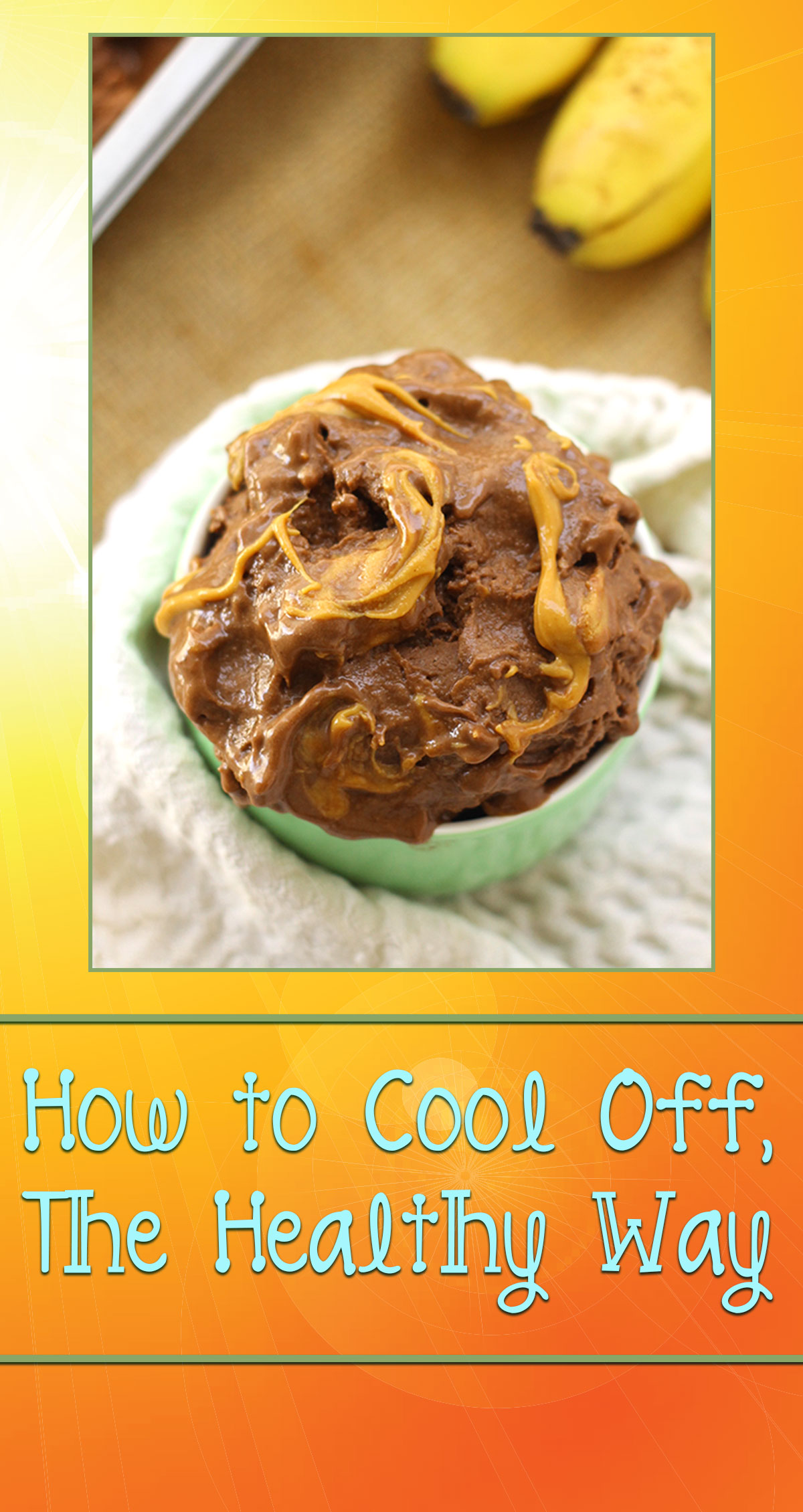 How to Cool Off, the Healthy Way Pin
