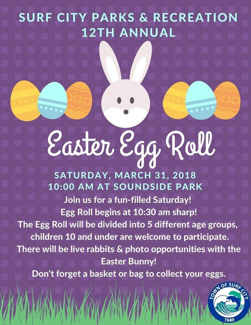 Easter Egg Roll Poster