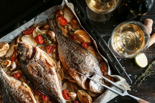 Fish Dinner | Island Real Estate