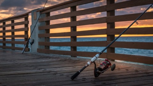 Fishing From The Dock | Island Real Estate
