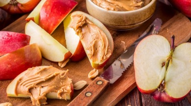 nut butter and apples | Island Real Estate