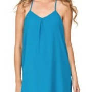 blue dress from Sandy Toes Boutique Topsail Island | Island Real Estate