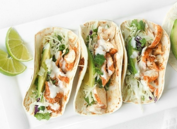 fish tacos with lime crema sauce | Island Real Estate