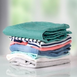 folded clothes | Island Real Estate