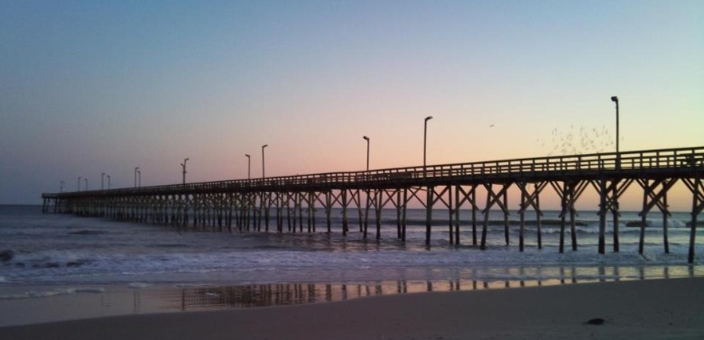 Fishing Pier Topsail Island