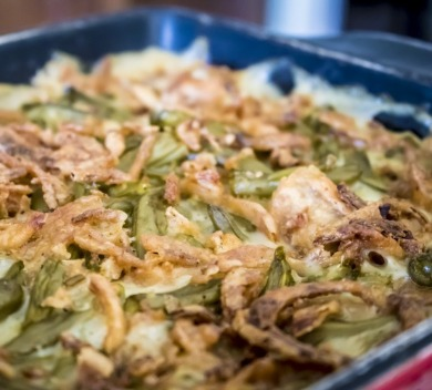 green bean casserole  | Island Real Estate