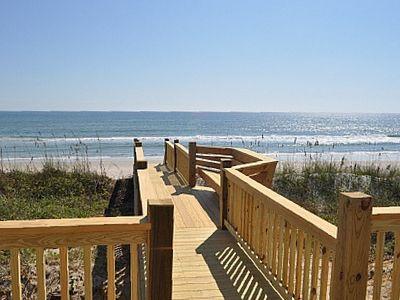 topsail beach oceanfront walkway